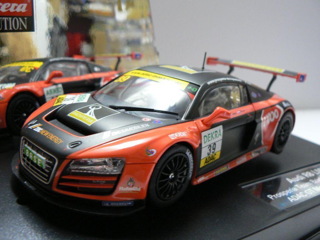 Carrera Evolution 27395 Audi R8 LMS Prosperia Team Brinkmann UHC Speed 2011 NEW