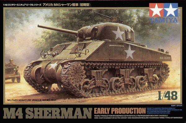 Tamiya 1 48 Us M4 M4 M4 Sherman Presto Prod  32505 336c9e