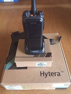 Hytera PD705 UHF Digital Radio and Ear Piece