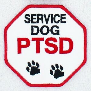 Service Dog Rocker Patch assistance Disabled Support Medical Danny /& LuAnn