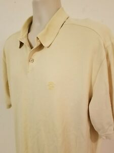 Tommy-Bahama-Polo-Men-039-s-Yellow-XL