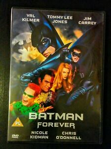 Batman Forever 1995 Region 2 Dvd Film Directed By Joel Schumacher Ebay