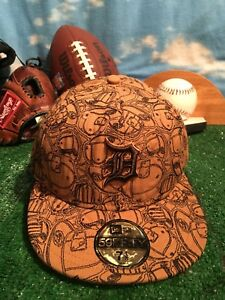 on sale 36845 13812 Image is loading New-Era-59FIFTY-DETROIT-TIGERS-Brown-Hat-Cap-