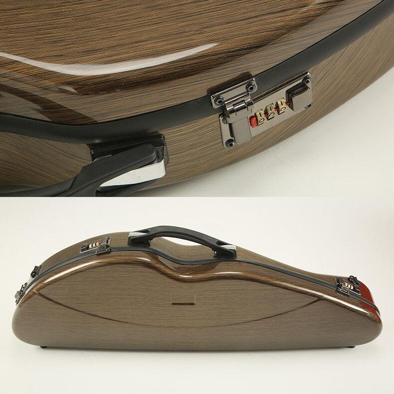 High quality carbon fiber violin case,fine workmanship ,violin case 2kg