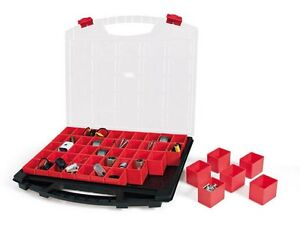Kleinteilekoffer-Sortimentskasten-Organizer-mit-50-herausnehmbaren-Einsaetzen