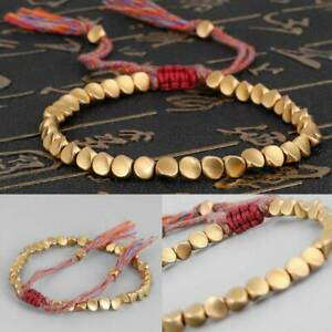 Handmade-Tibetan-Copper-Bead-Lucky-Rope-Bracelet-For-Womens-Girls-Jewelry-Gifts