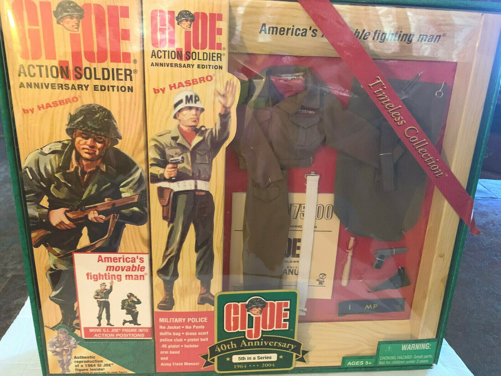 G.I. JOE Timeless Collection 40th Anniversaire police militaire NEW Comme neuf IN BOX