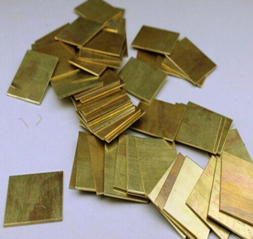Brass Metal Sheet Plate 2.5mm x 100mm x 100mm