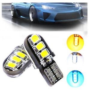 2pcs-T10-W5W-SMD2835-6-LED-Silicone-Waterproof-Car-Vehicle-Light-Lamp-Bulb-UK-FE