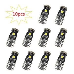 10-T10-168-2825-W5W-194-Bombillas-3030-SMD-24-LED-Interior-Luz-Del-Coche-12V