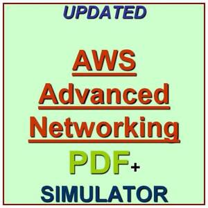 Details about Amazon AWS Certified Advanced Networking Specialty Exam Test  QA PDF+Simulator