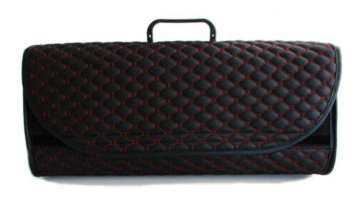 Fits all Models Audi quattro Car Leather Boot Tidy Organiser