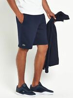 Lacoste Sport Brushed Fleece Shorts In Navy All Sizes S,m,l,xl,xxl & Xxxl