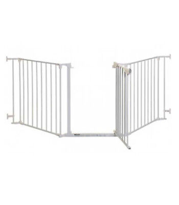Safety Gates White Dreambaby Newport Adapta-gate/3 Panelled Gate/both Way Swing/easy Latch