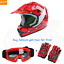 DOT-Youth-Kid-Helmet-Dirt-Bike-ATV-Motocross-Motorcycle-Full-Face-Goggles-Gloves thumbnail 28