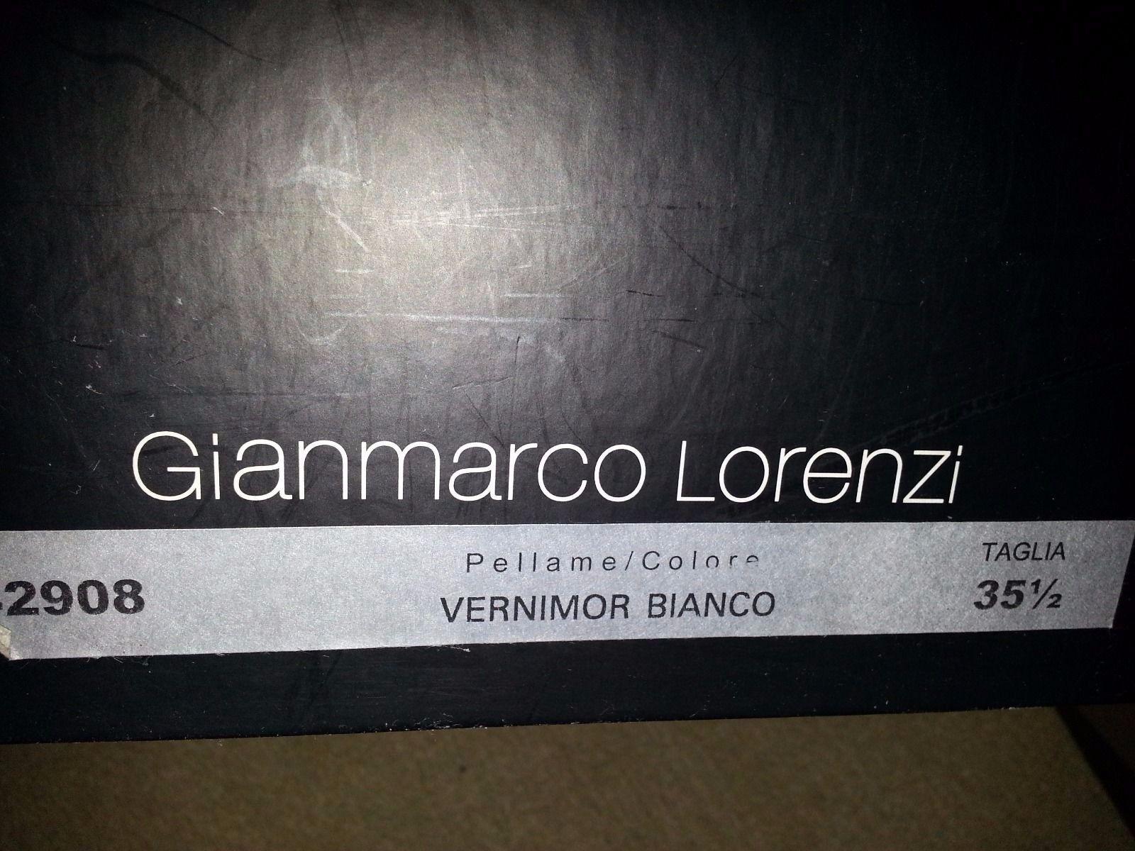 Gianmarco Lorenzi 35,5  Damen Stiefel Gr 35,5 Lorenzi echt Leder Lack m.Karton LP db6eac