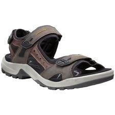 47bbe7792b8819 Ecco Offroad Espresso Cocoa Brown Mens Nubuck Leather Strappy Sports Sandals