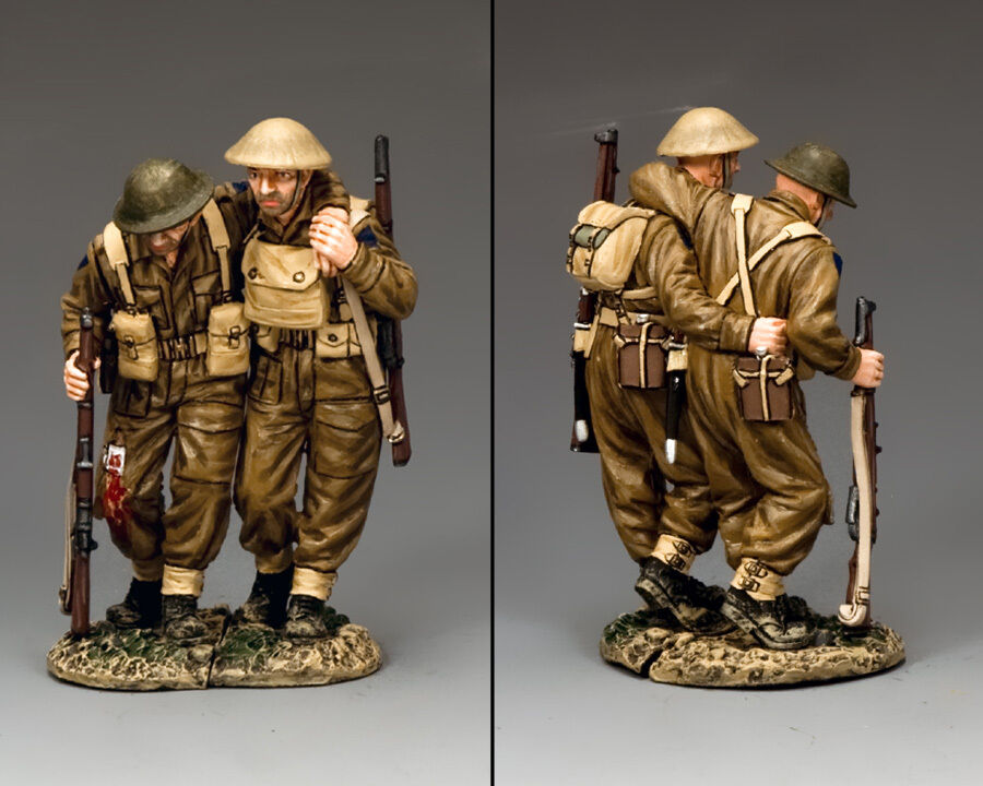 Bonne offre à Noël King and Country Walking Wounded WW2 British FOB119   Digne