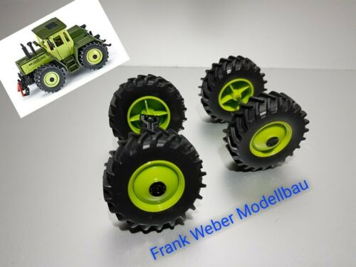 3477 Set Achsen vorne hinten MB Trac 1800  Siku Farmer 1:32 Ersatzteil Umbau