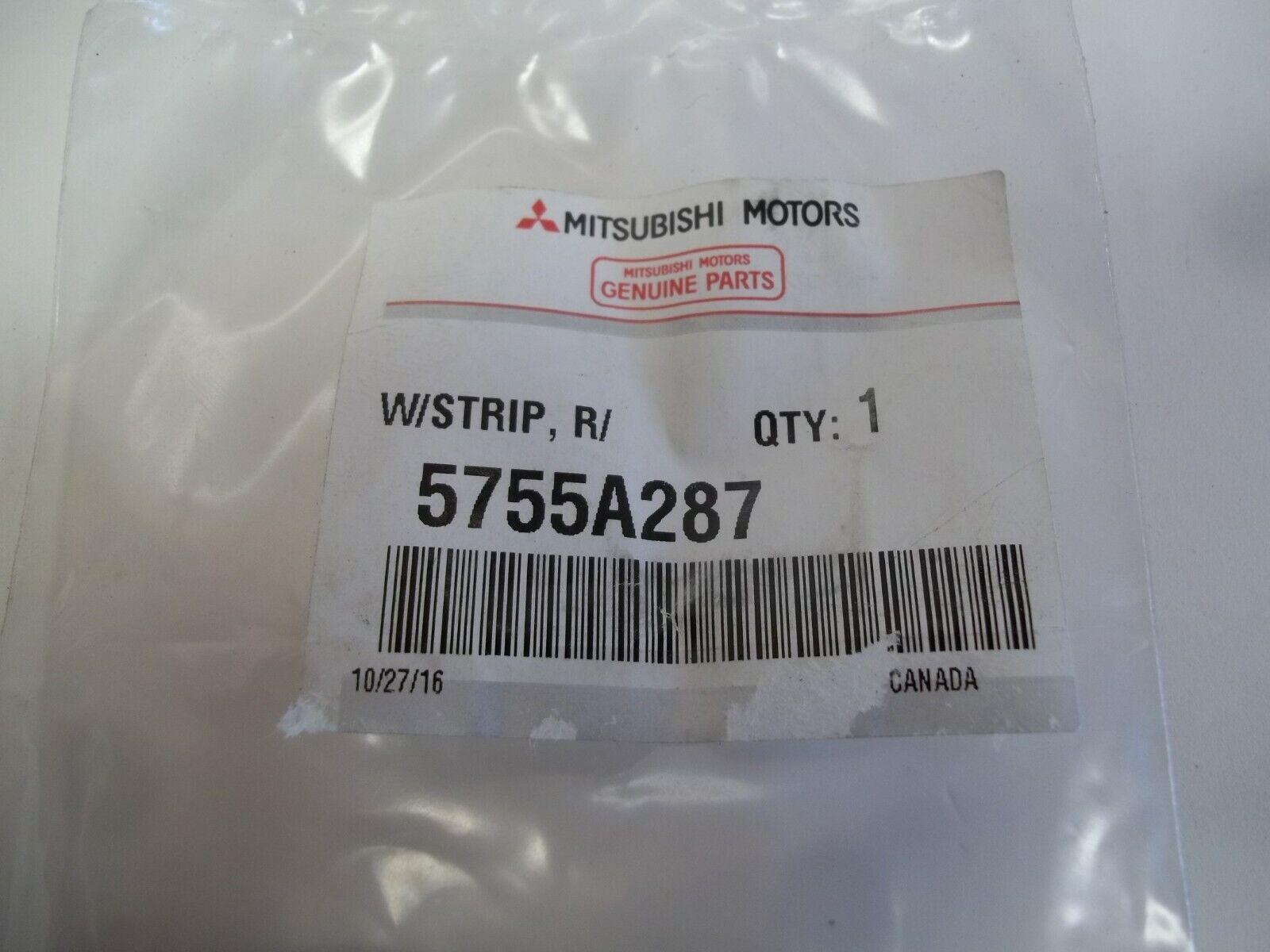 MITSUBISHI OEM 14-16 Outlander Rear Door-Lower Weatherstrip Seal 5755A287
