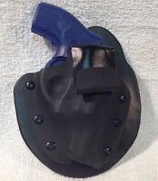 Ruger Lcr W/crimson Trace Grip Iwb Paddle Kidney Holster Inside Waist Band Aiwb