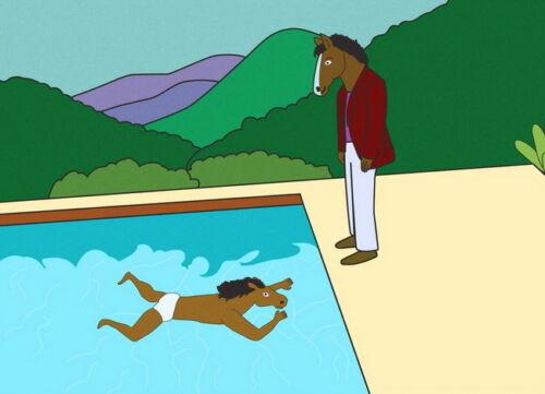 "051 BoJack Horseman Animated Sitcom Raphael Bob-Waksberg 33/""x24/"" Poster"