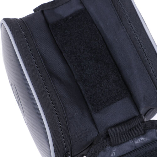 Bicycle bike top frame front pannier saddle tube bag double pouch holder TS OC