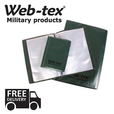 Abile Web Tex Nirex Portadocumenti A4, 5,6 Spedizione Gratis In Uk All'aperto Sopravvivenza Militare-mostra Il Titolo Originale