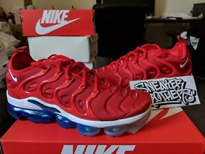 f24a8fb01d2e Nike Air Vapormax Plus USA University Red White Photo Blue Black ...