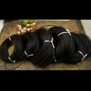 Leather Cord Round 1 4MM 100/% Real String Lace Thong Jewellery HQ 2 1.5 3