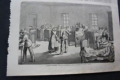 1864 Stich 29 / Flensburg Lazareth