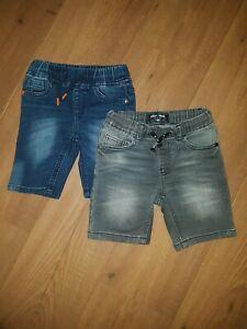 Boys-Next-Denim-Stretch-Jersey-Shorts-Age-2-3-Years