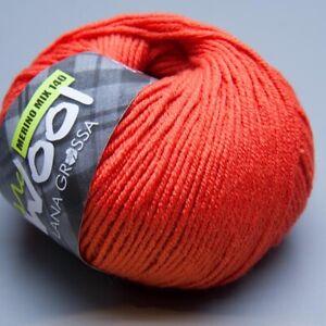 Lana-Grossa-Mc-Wool-Merino-Mix-140-424-ciliegia-50g-Wolle-5-90-EUR-pro-100-g
