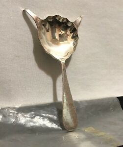reed barton silver plate brandy spoon adlers new orleans cafe r1 11g w package ebay. Black Bedroom Furniture Sets. Home Design Ideas