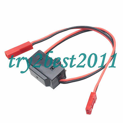 RC LED Accessory Switch W/ JST F and JST M Connector Quadcopter Plane Truck Car