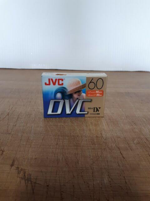 JVC Mini DV 60 Mins New Sealed M-DV60DU