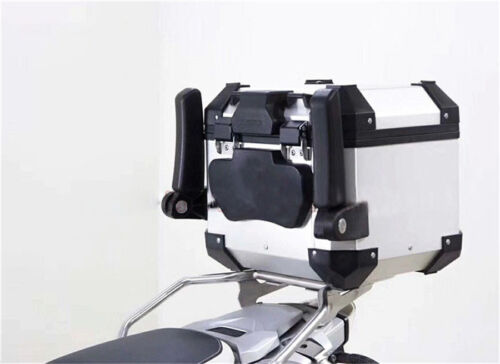 Folding Motorcycle Top Case Box Rear Seat Armrest Accessories For BMW Yamaha KTM