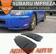 Subaru Impreza WRX STI 03-05 | Luz antiniebla OEM cubre | PU Plástico | Reino Unido stock | Nuevo