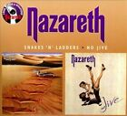 Snakes 'N' Ladders/No Jive [Digipak] by Nazareth (CD, Jun-2011, 2 Discs, Salvo)