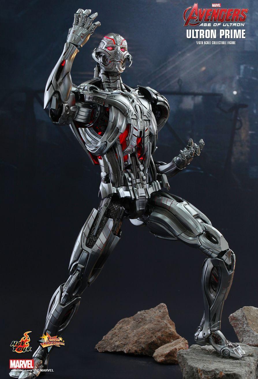 AVENGERS 2  Ultron Prime 1  6th skala Action Figur MMS284 (heta leksaker) NY