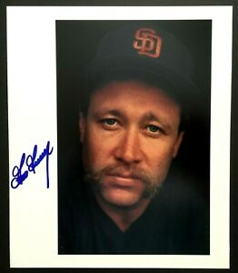 GOOSE-GOSSAGE-signed-photo-autograph-YANKEES-PADRES