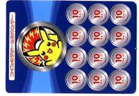 Carte Pokemon A Decouper Piece / Marqueurs Pikachu