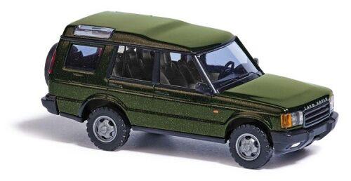 Busch 51931-1//87//h0 Land Rover Discovery-Metallica verde-nuevo