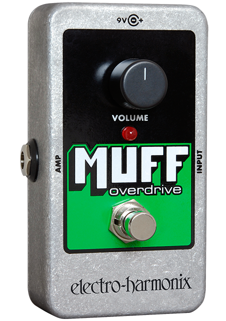 EHX Electro-Harmonix Nano Muff Overdrive Guitar Effects Pedal
