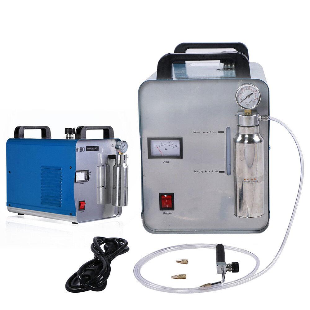 95L Sauerstoff-Wasserstoff Generator Wasser Schweißgerät Acryl Flamme Polierer