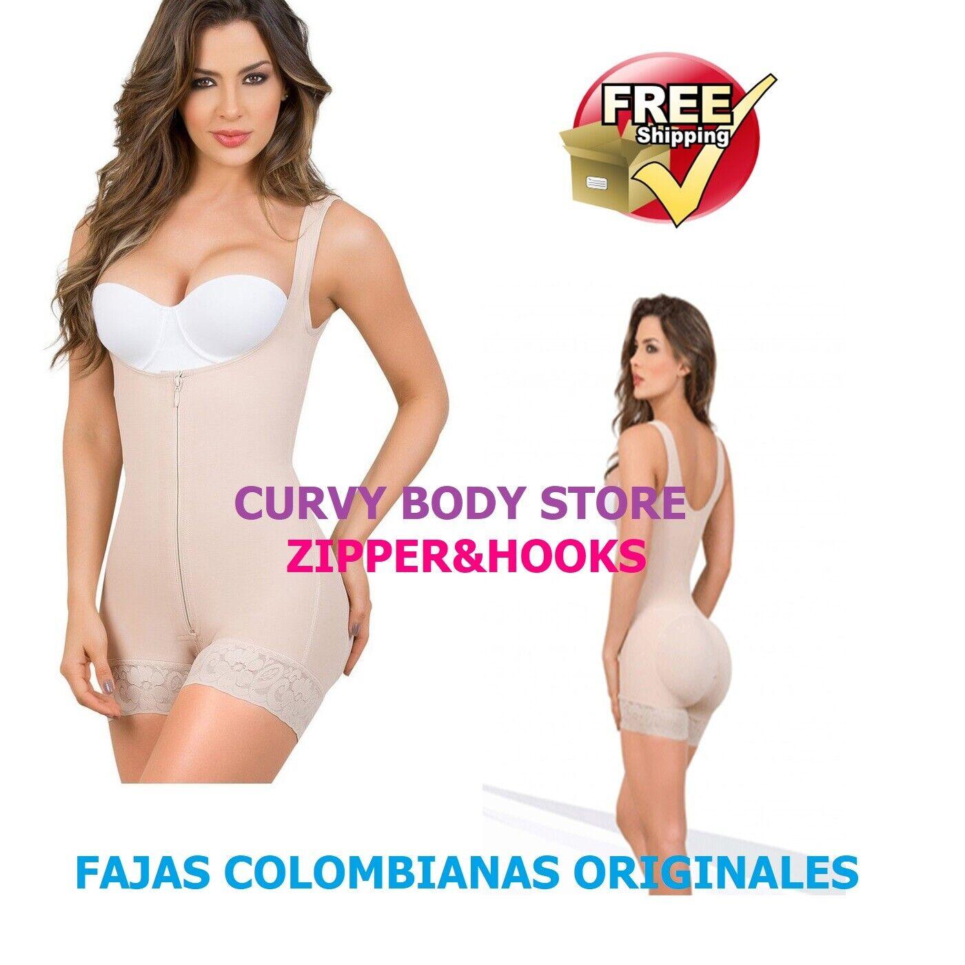 FAJAS 100% COLOMBIANAS LEVANTA COLA CON ZIPPER WOMEN'S POST SURGERY REDUCTION