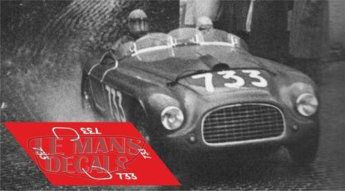 Calcas Ferrari 195 S Mille Miglia 1950 733 1:32 1:24 1:43 1:18 slot 195S  decals