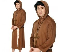 XL Mens Adult New Friar Tuck Costume Monk Fancy Dress Outfit Religious Outfit