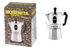 Cafetera Cafeteras ( Ibrik ) Moka Moca Caffe' Espresso Morenita 2 Tazas Nuevo