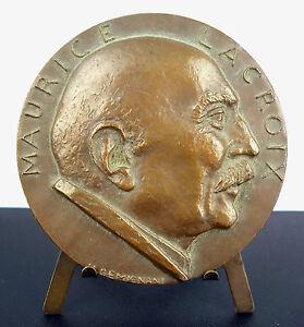 Medal-to-Maurice-Lacroix-Association-Franco-Ancienne-Ulysse-Geminiani-c1970